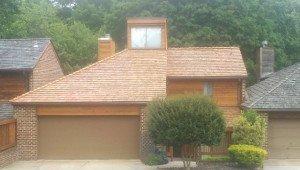 Cedar Shake Roof (After)